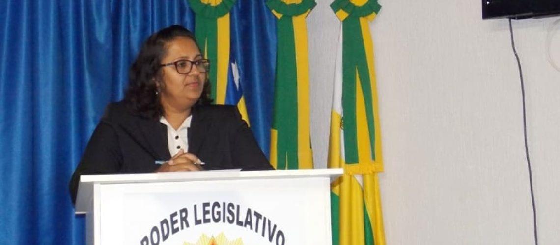Vereadora Eliz Fátima